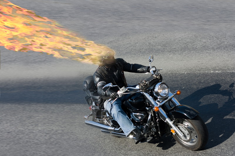 火の玉ライダー